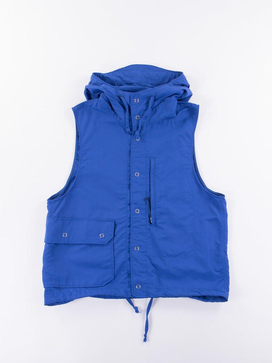 Royal Blue 4–Ply Nylon Taslan Field Vest