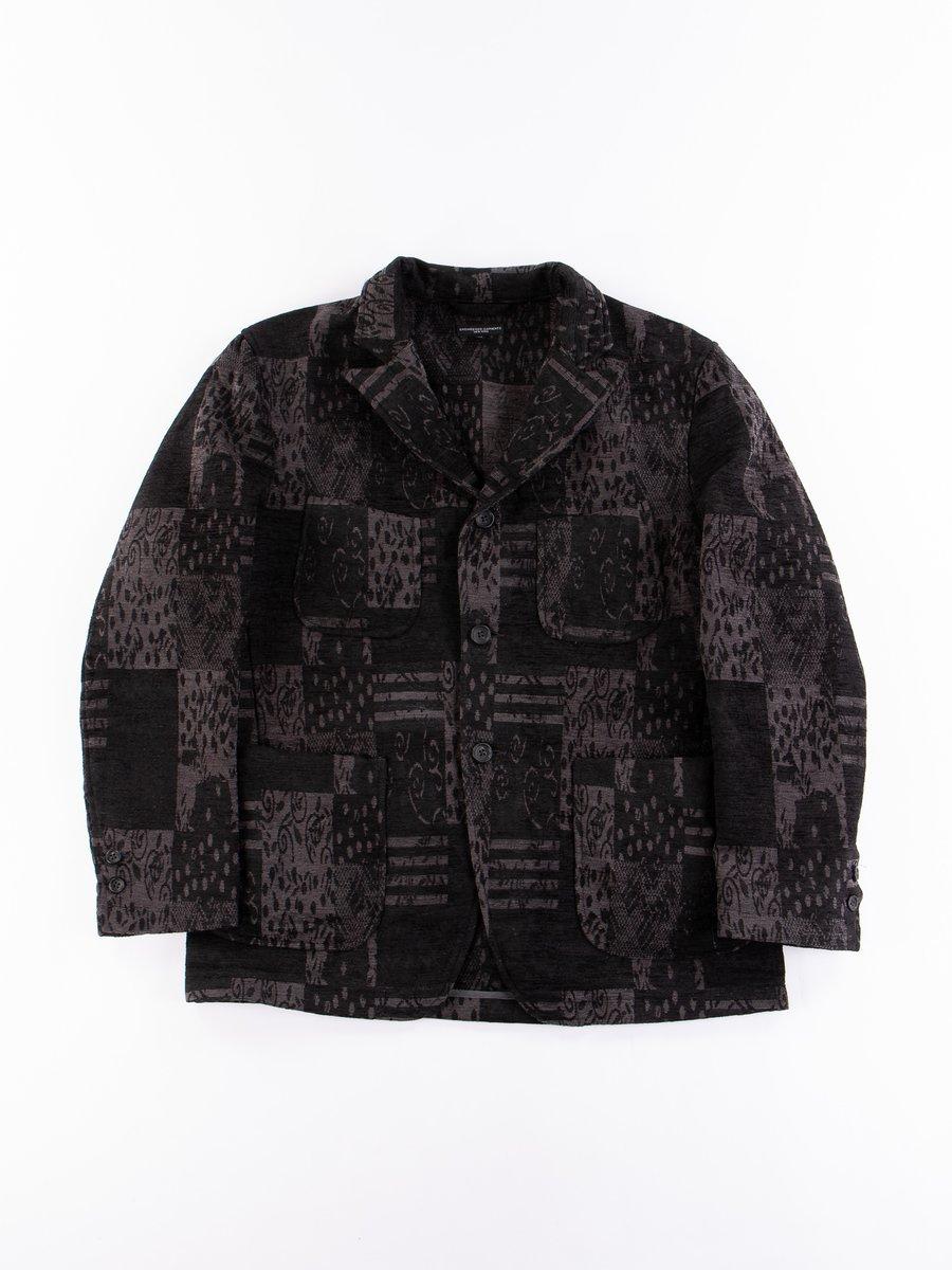 Dark Grey/Black Chenille NB Jacket
