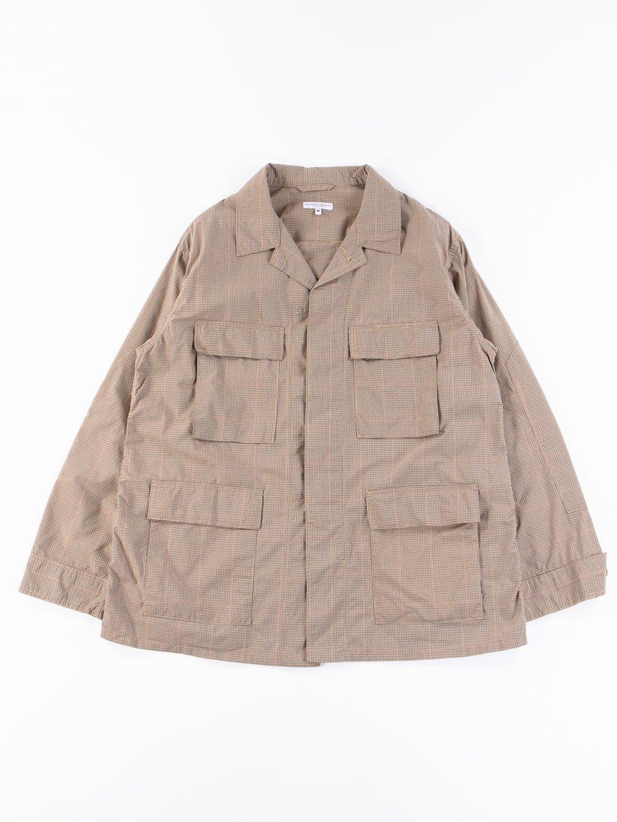 Khaki Nyco Mini Tattersall BDU Jacket
