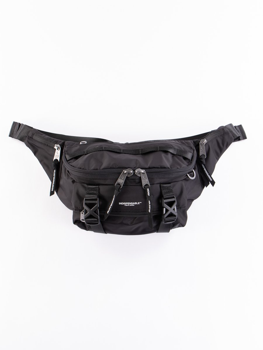 Black Econyl Attach IDP Belt Bag