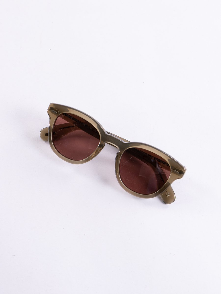 Dusty Olive/Rosewood Cary Grant Sunglasses