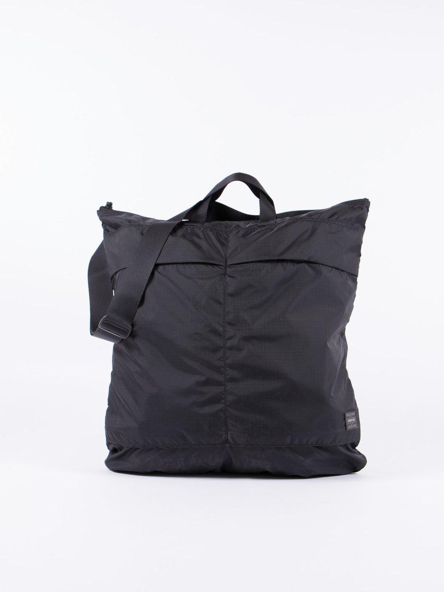 Black Flex 2Way Helmet Bag