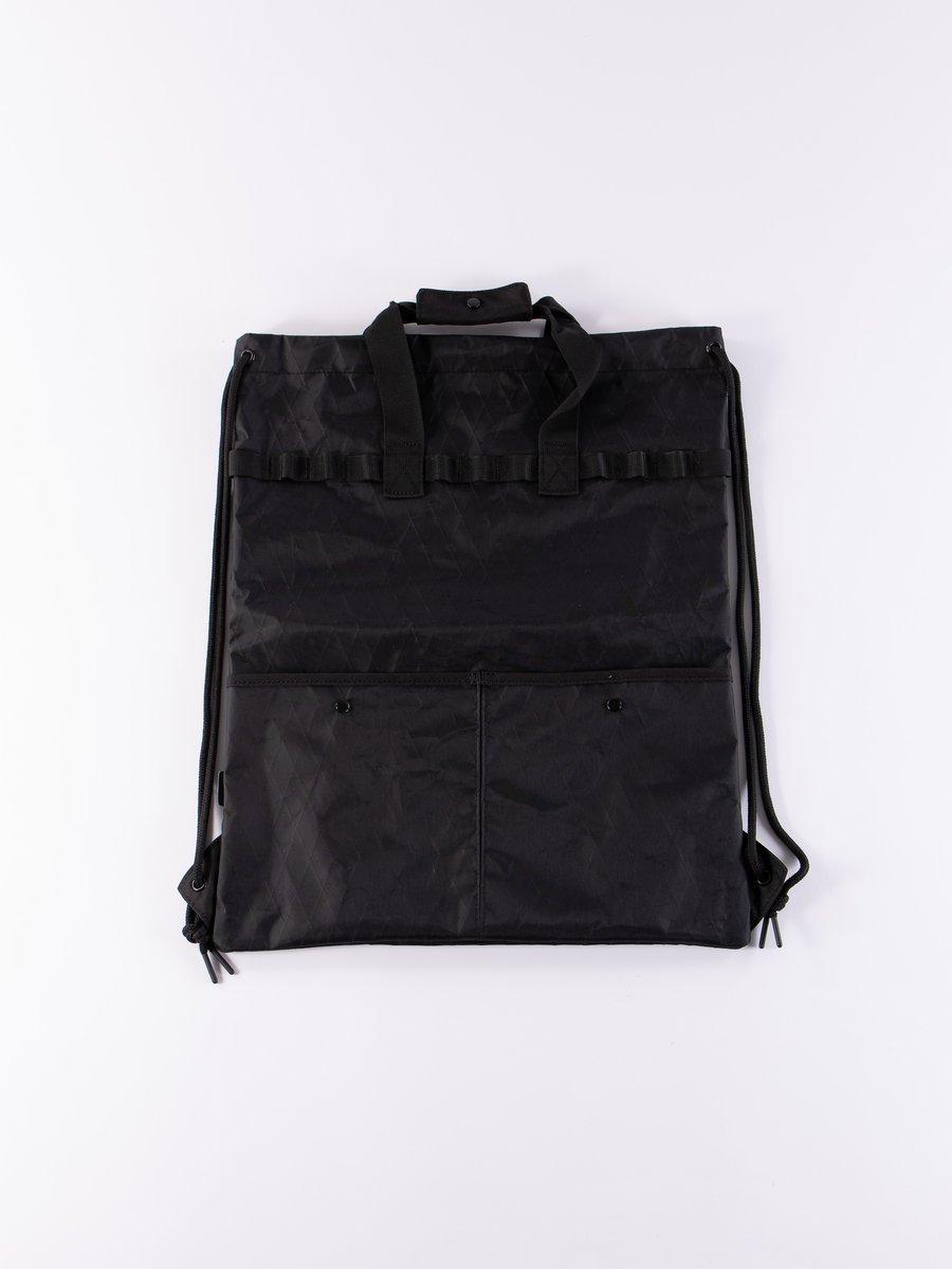 Black X–Pac Nylon Daypack