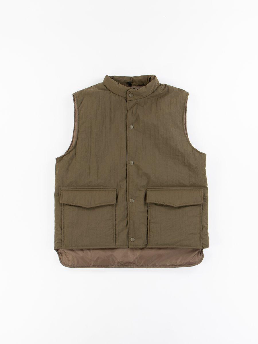 Army Water Repellant Puff Nylon Vest