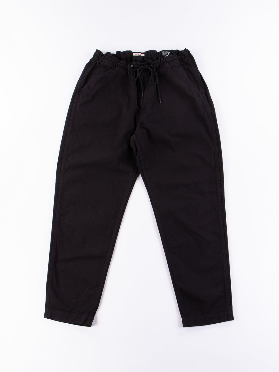 Black Overdyed Canvas TBB Mill Pant