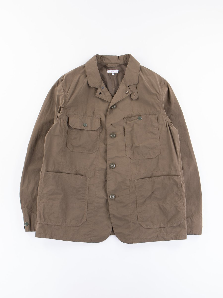 Olive 4.5oz Waxed Cotton Logger Jacket