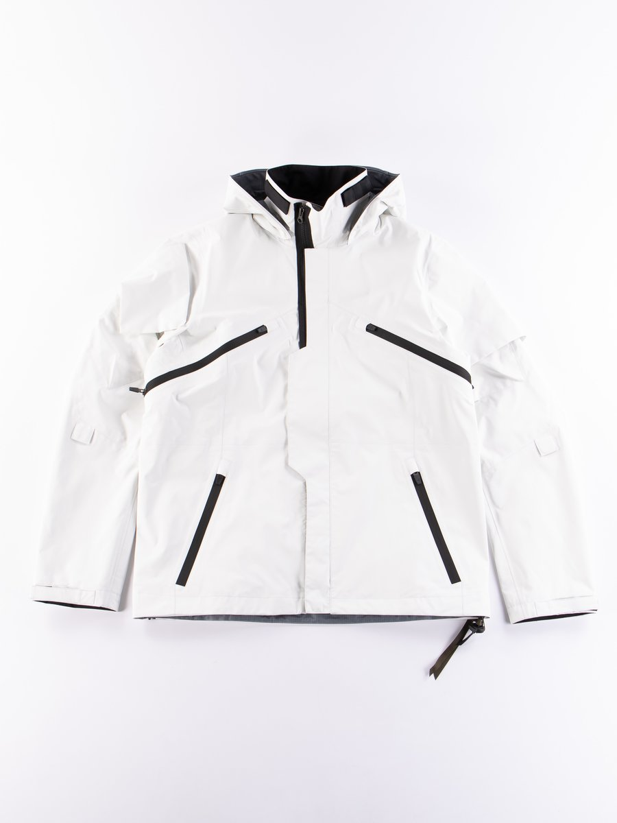 J1B–GT White 3L Gore–Tex Pro Interops Jacket