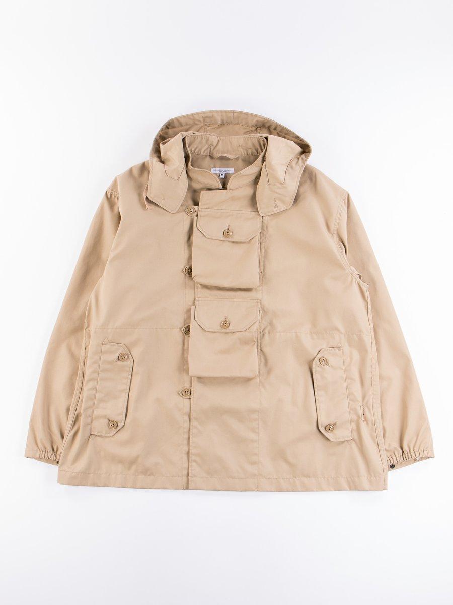 Khaki PC Poplin MT Jacket