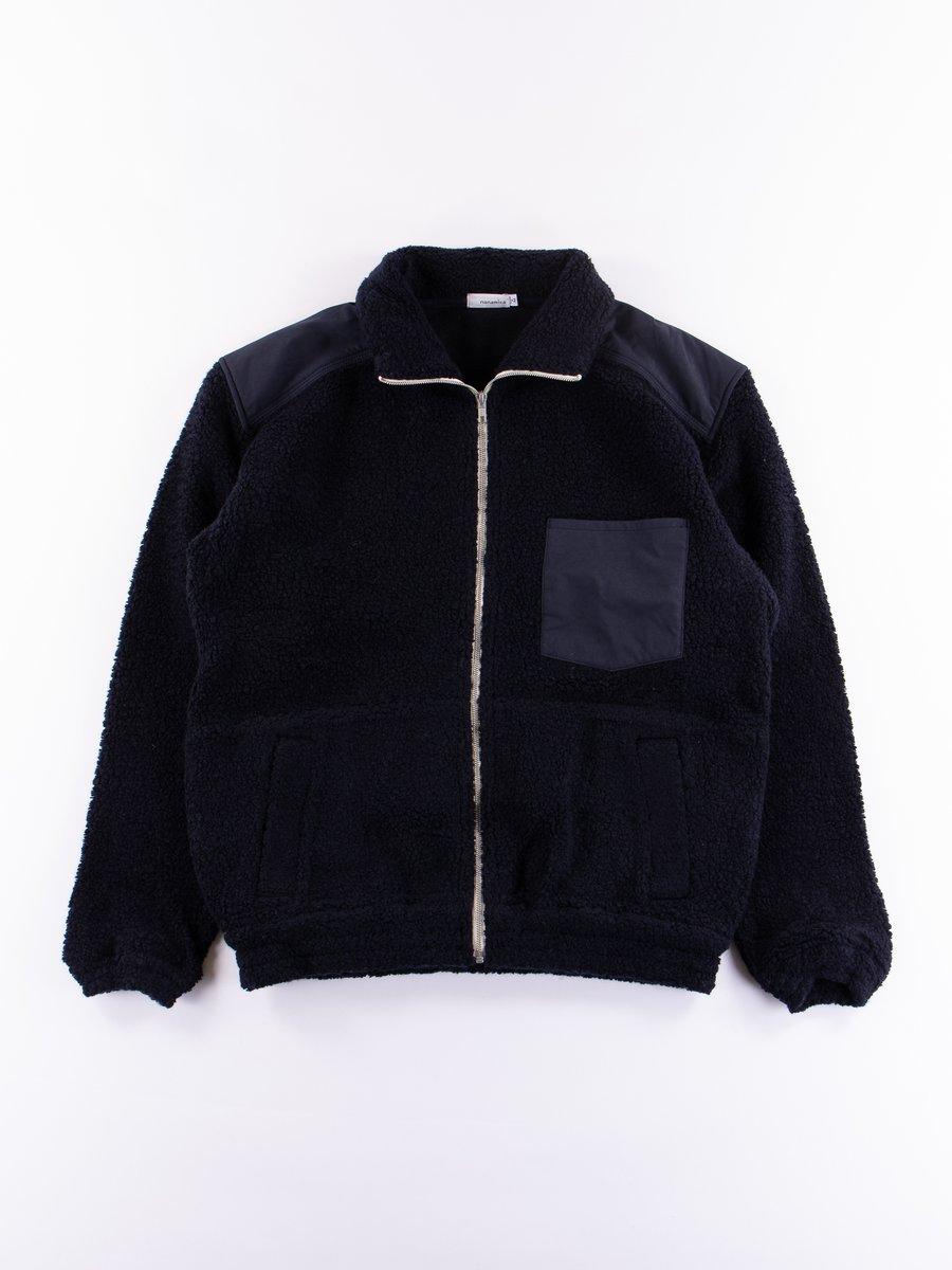 Navy Pile Jacket