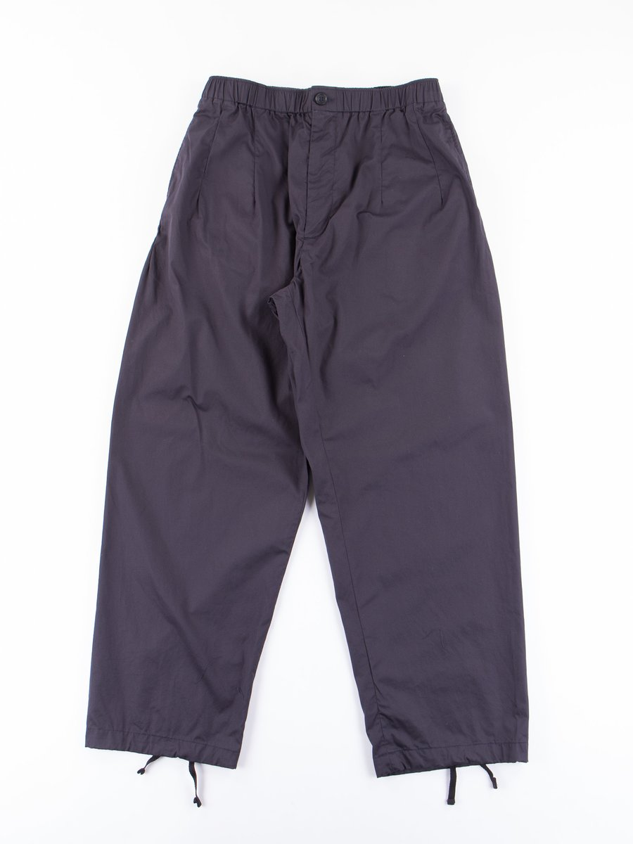 Dark Navy High Count Twill New Balloon Pant