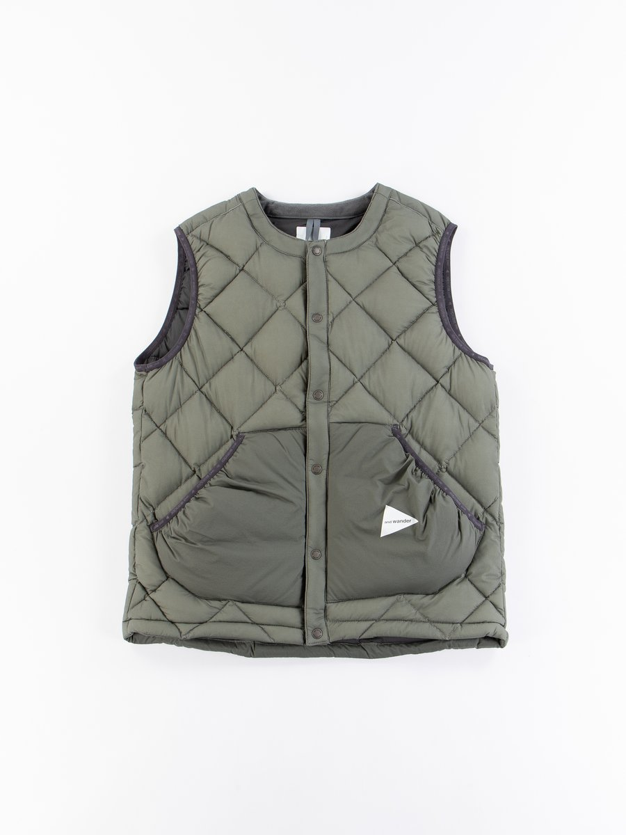 Grey Diamond Padded Vest