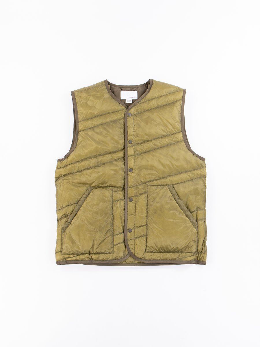 Light Khaki Down Vest