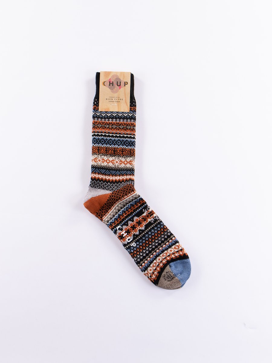 Black Fika Socks