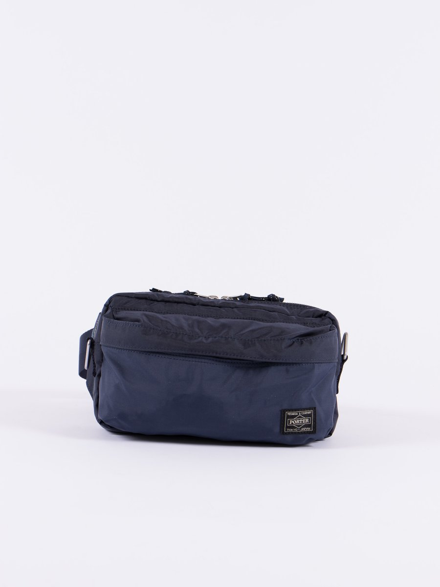 Navy Force 2Way Waist Bag