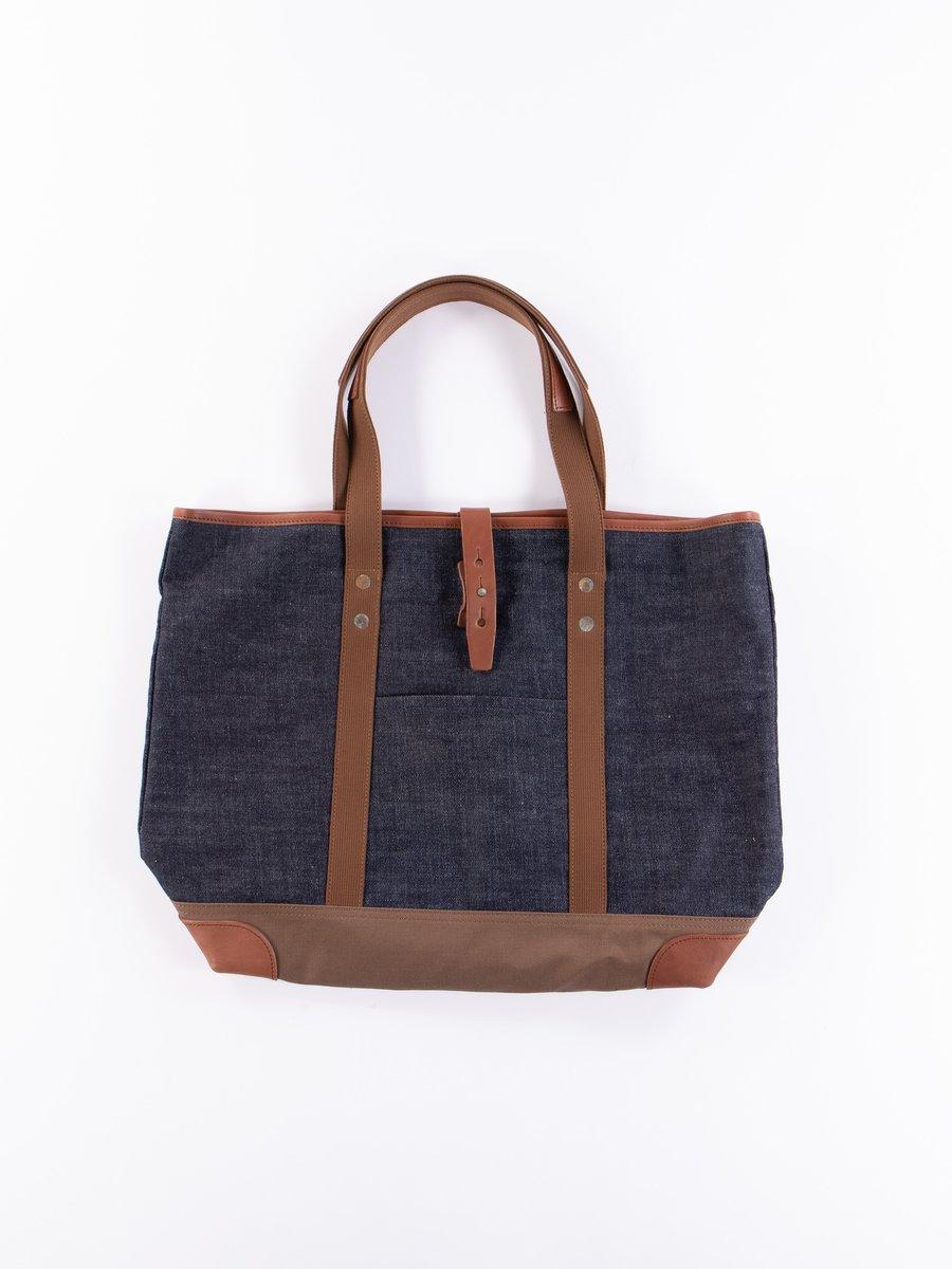 Indigo Denim 5212 Tote Bag