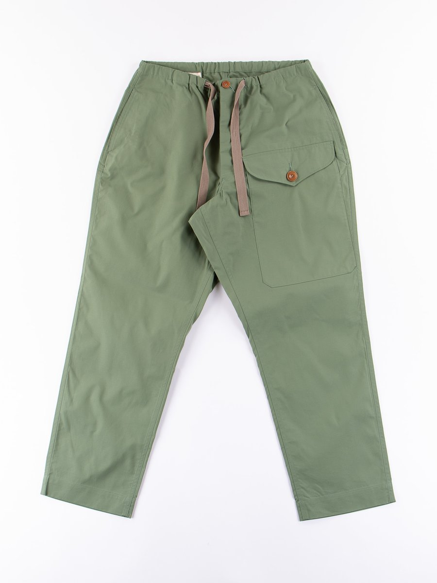 Olive High Density Military Pant