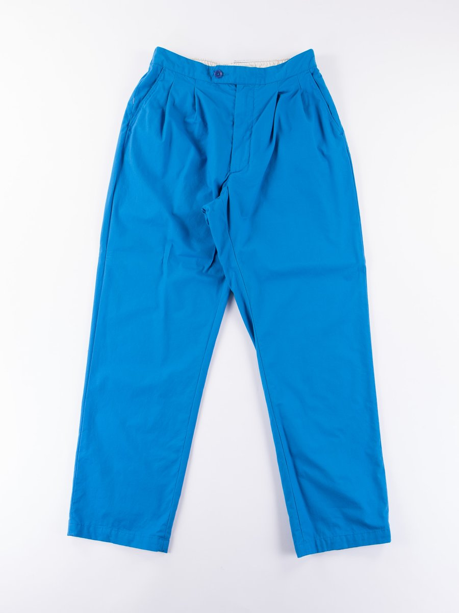 Bright Blue Malibu Poplin Emerson Pant