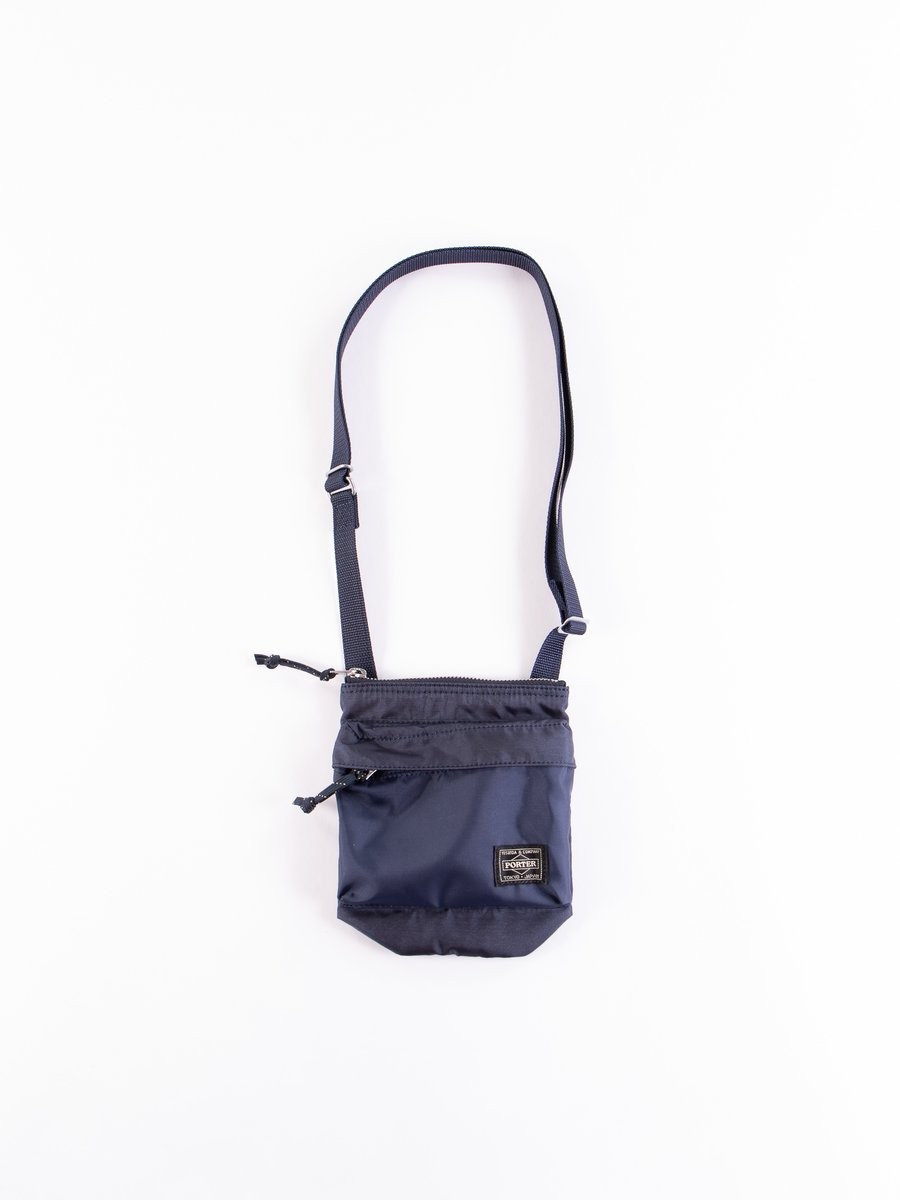 Navy Force Shoulder Pouch