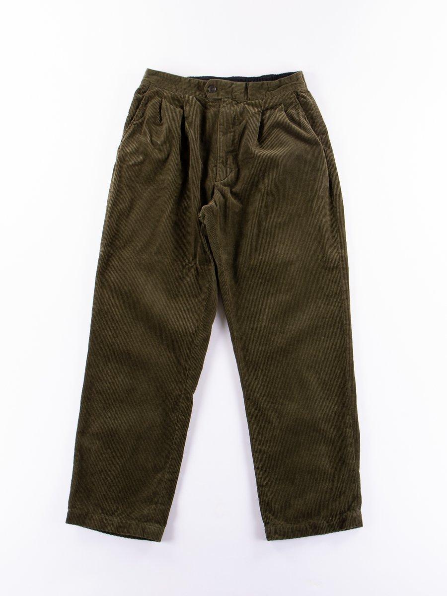 Olive 8W Corduroy Emerson Pant