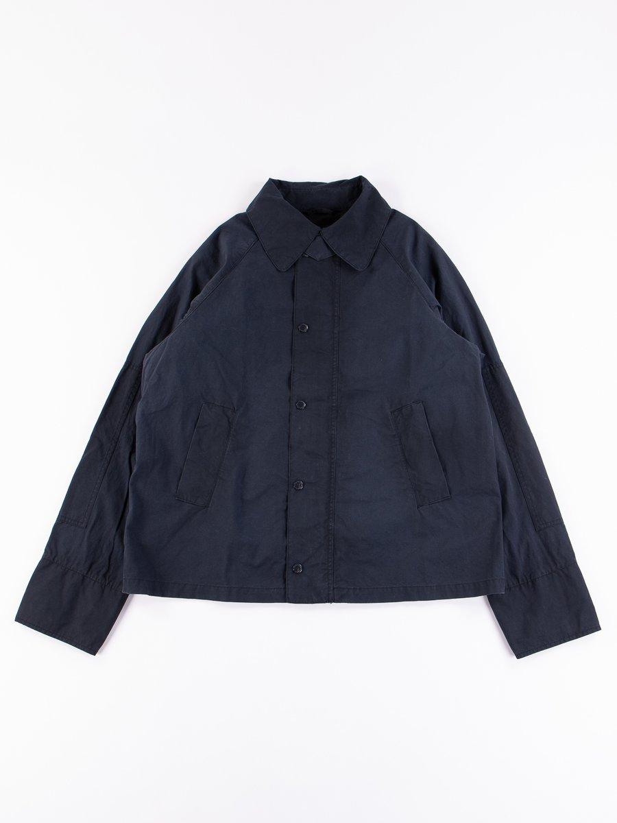 Navy Washed Graham Jacket