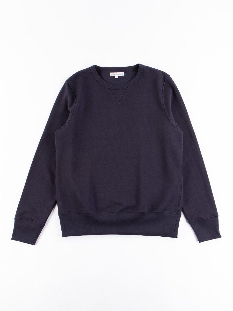 Night Blue 3S48 Organic Cotton Heavy Sweater