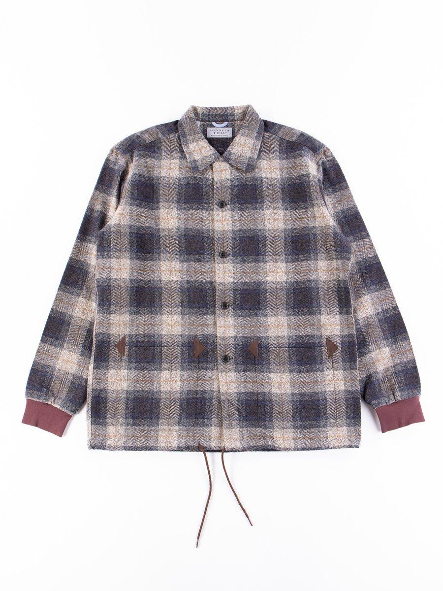 Grey/Navy Nel Plaids EZ–JACIV Jacket