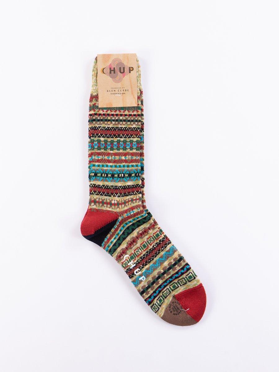 Lime Fjord Socks