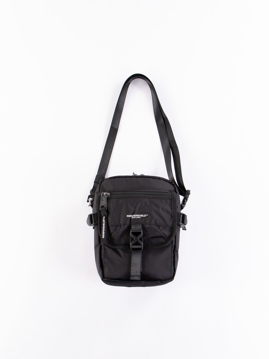 Black Econyl Buddy IDP Quick Shoulder Bag