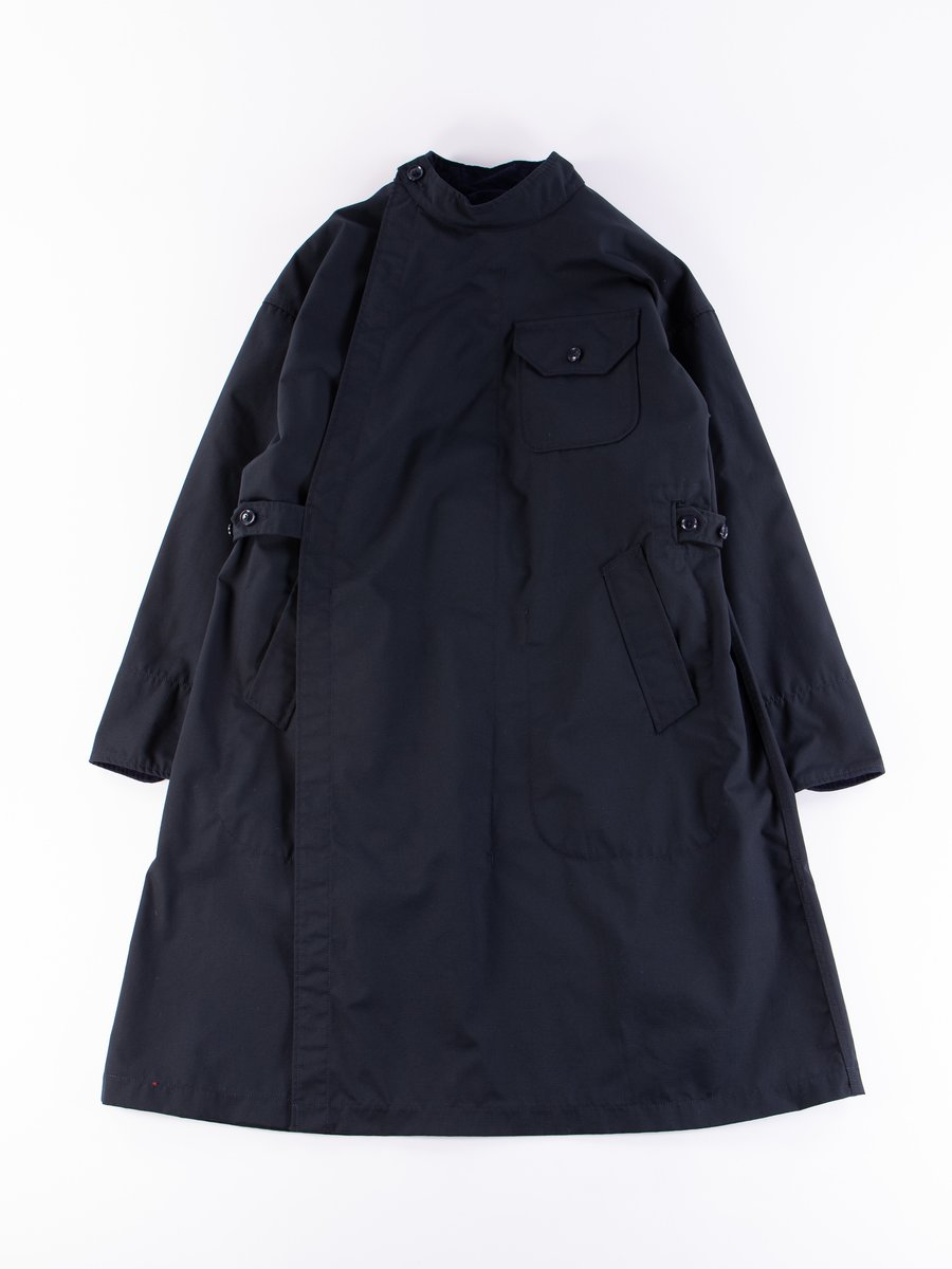 Dark Navy Nyco Ripstop MG Coat