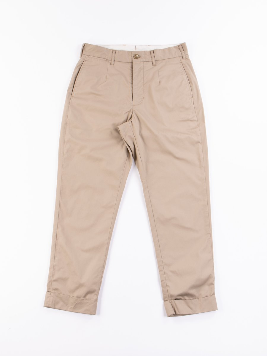 Khaki Highcount Twill Andover Pant
