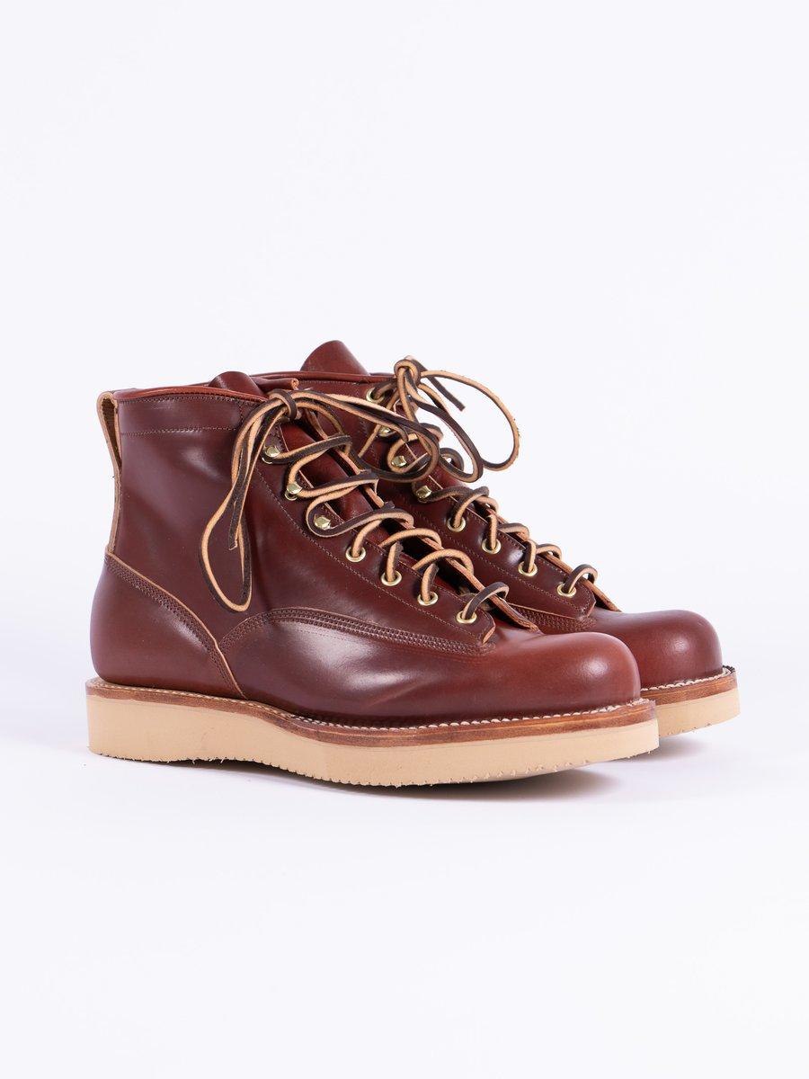 Garnet Shell Cordovan Rigger Boot