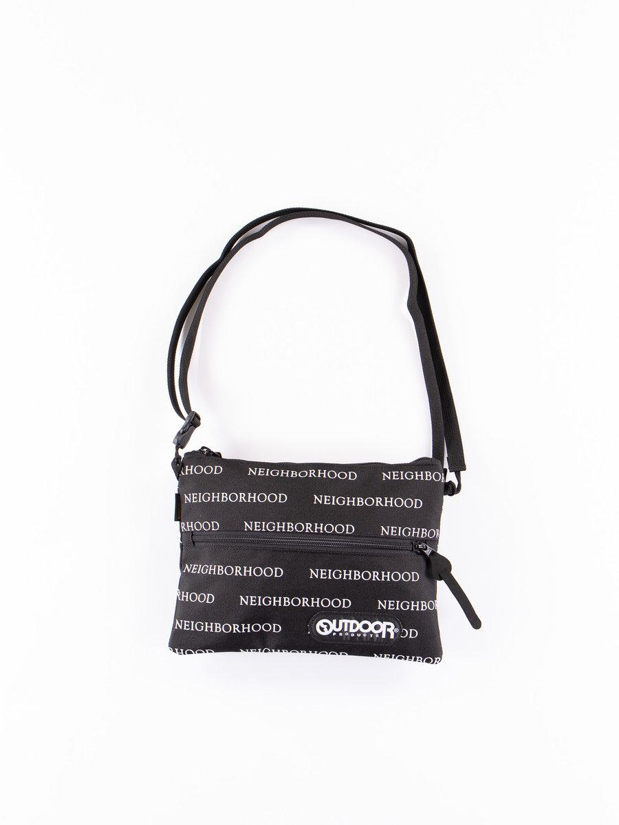 Black Logo Shoulder Bag