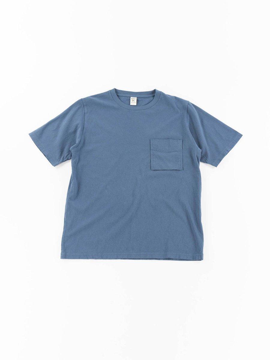 POCKET TEE ASH BLUE