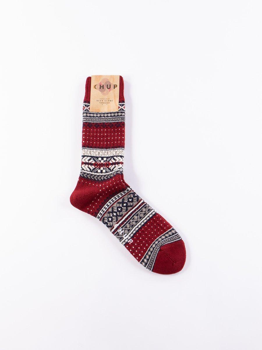 Crimson Ceret Socks