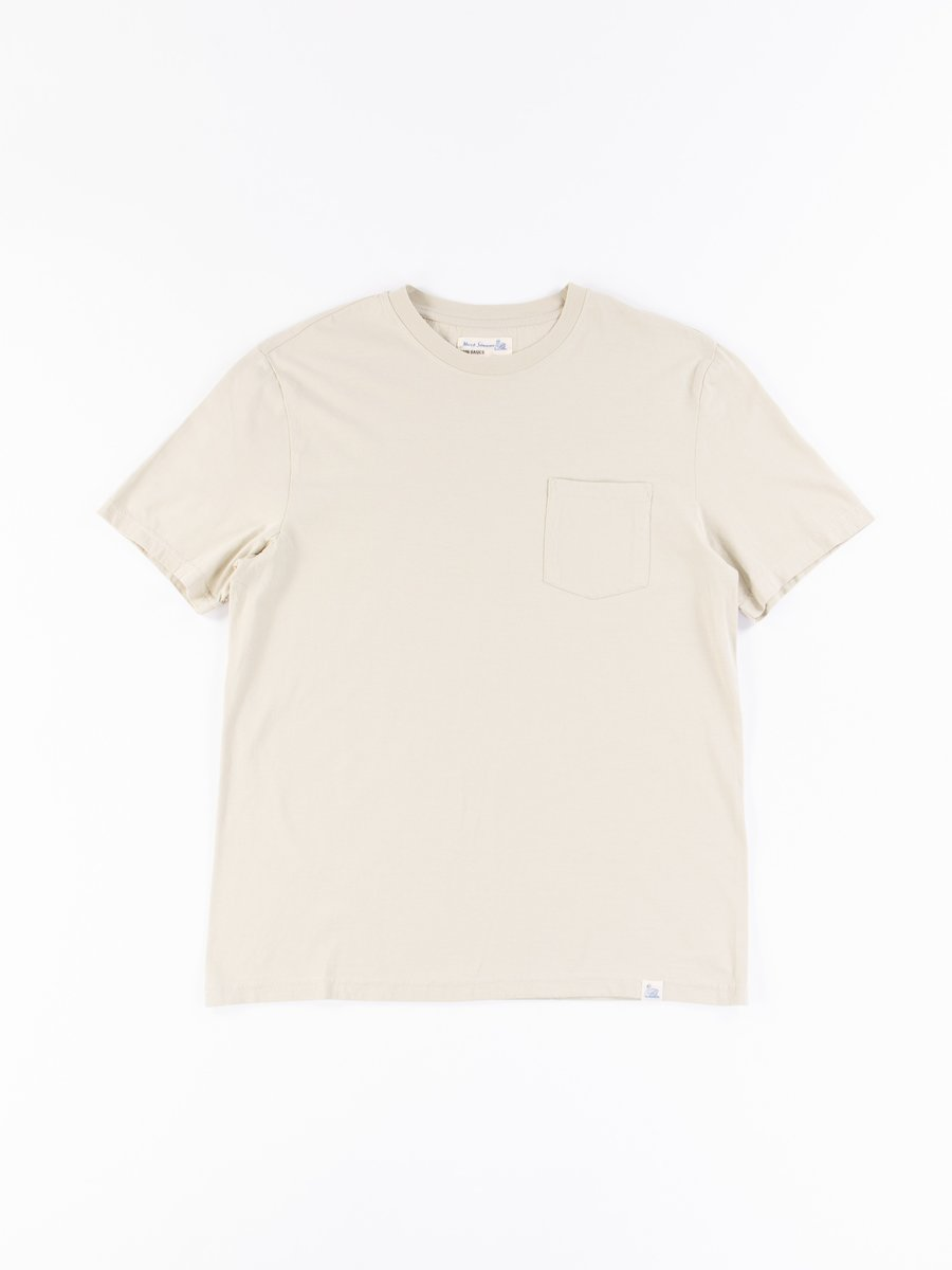 Green Tea Good Basics CTP01 Pocket Crew Neck Tee