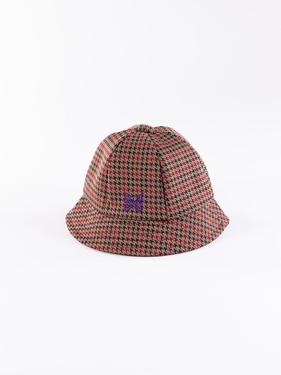 Houndstooth Poly Jacquard Bermuda Hat