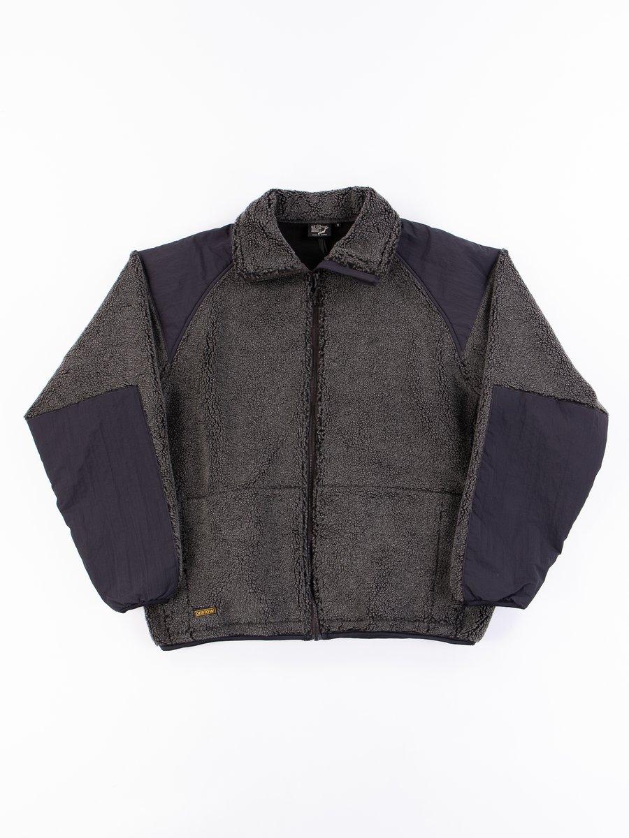 Charcoal Grey Fleece Jacket