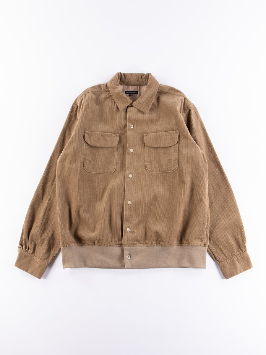 Khaki 14W Corduroy Classic Shirt