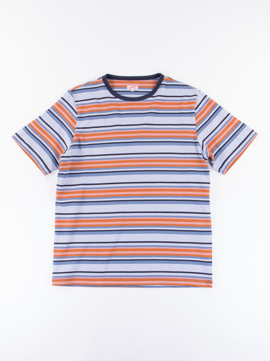 Navy/Blue/Orange Match Jersey T–Shirt