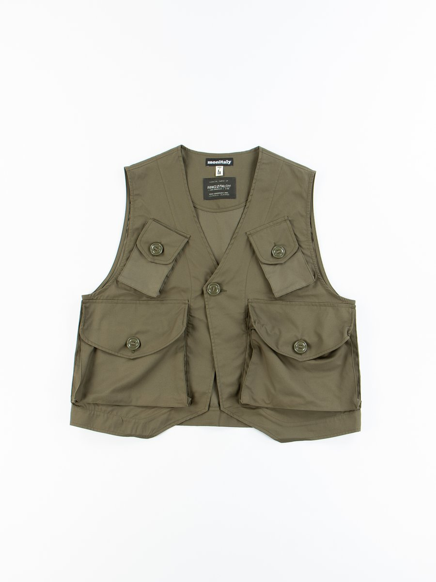 Olive Oxford Vancloth Type–C Military Vest