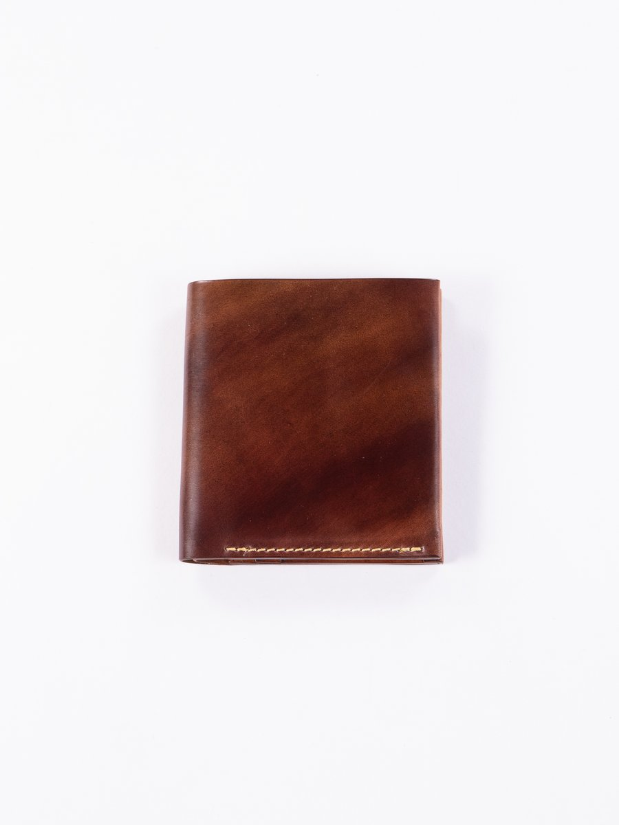 Washed Color 8 Horween Cordovan 3–3 Wallet
