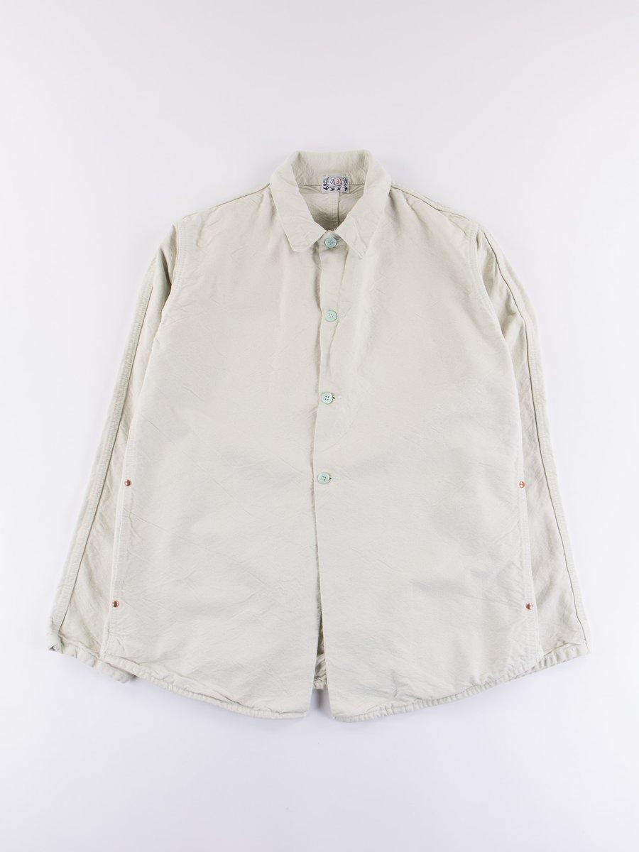 Verdigris Dye Shoemaker's Canvas Double Front Butterfly Jacket