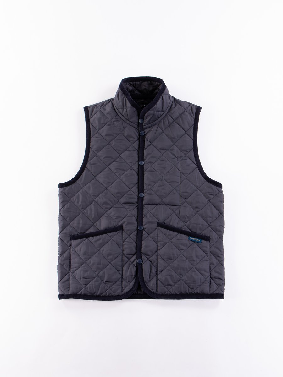 Suffolk Navy Mickfield Gilet