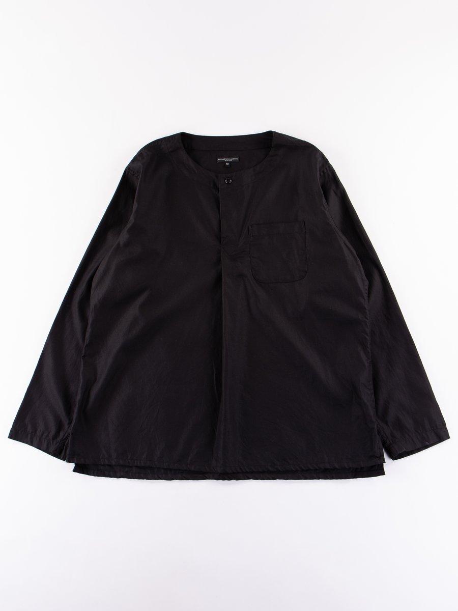 Black Cotton Dress Twill MED Shirt