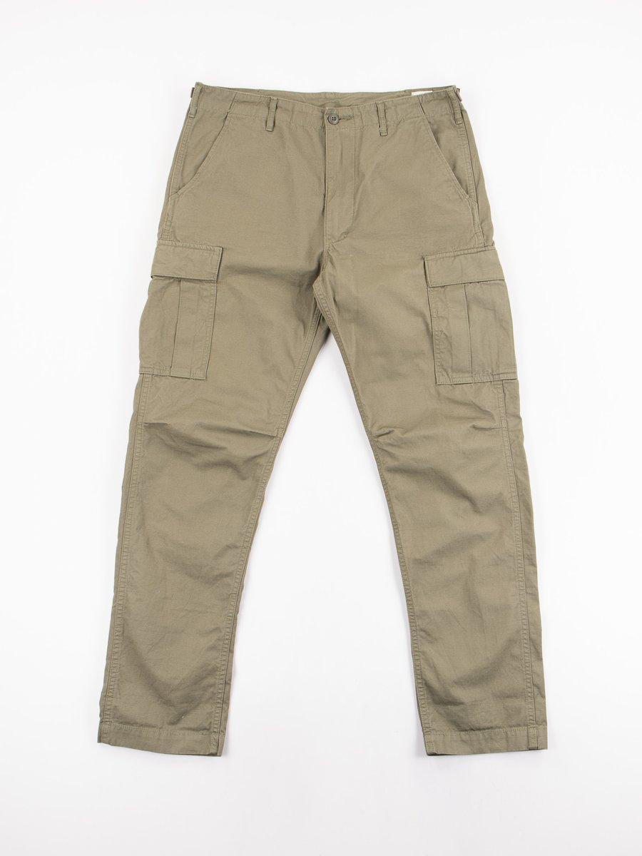 Army Green Ripstop 6 Pocket Cargo Pant