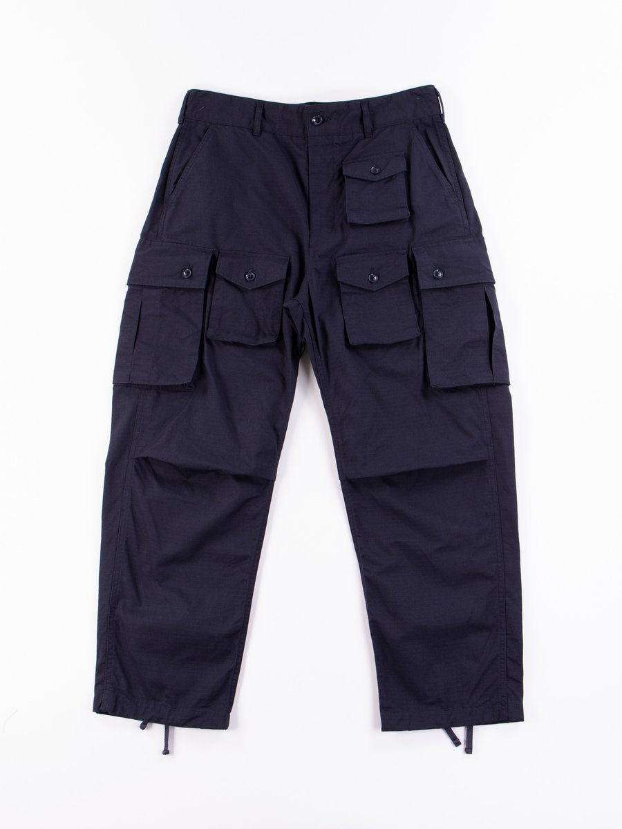 Dark Navy Cotton Ripstop FA Pant