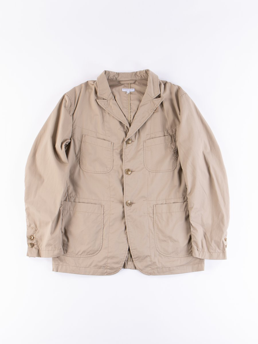 Khaki High Count Twill NB Jacket