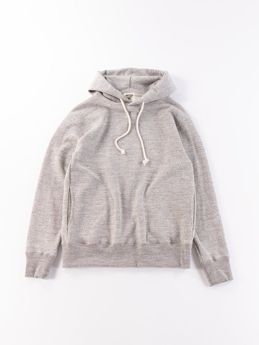 GG SWEAT PULLOVER PARKA HEATHER GREY