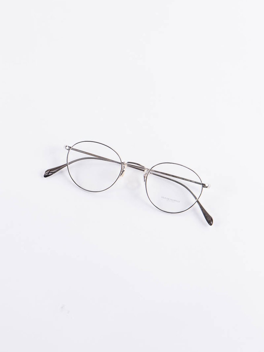 Silver Coleridge Optical Frame