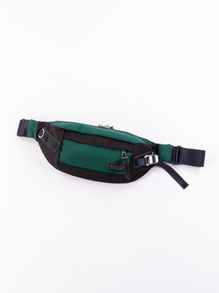 Dark Green 01234 Hunter Waist Bag
